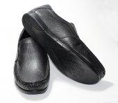 Erkek Deri Ayakkabı (Mat Siyah)-2