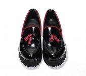 Püsküllü Rugan Ayakkabı-2