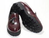 Püsküllü Rugan Ayakkabı-3