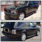 Range Rover Vogue Yan Basamak Marşbiyel Koruma