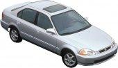 Honda Civic Ayna Kapağı Kromu 96-00-2