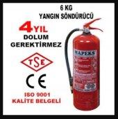 6kg Yangın Söndürücü Tüp Tüv Onaylı