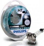 H7 X Treme Vision Ampul 130 Fazla Işık Philips