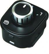 Vw Golf 6 Ayna Ayar Anahtarı Düğmesi Krom