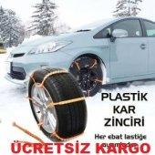 Plastik patinaj zinciri tüm araçlara uyumlu