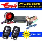 Oto Alarm Kumandalı İnwells 3985 12 Volt