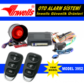 Oto Alarm Kumandalı İnwells 3952 12 Volt