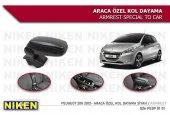 Peugeot 208 Kol Dayama Kolçak Vidasız Konsol Niken