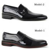 Fastway 100 Deri Rugan Erkek Günlük Klasik Kundura Ayakkabı-2