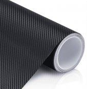 Siyah Karbon Kaplama Folyo Hava Kanallı Süper Ürün