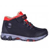 MP 172-0382 Termal Kürklü Cırtlı Erkek Çocuk Kışlık Bot Ayakkabı-2