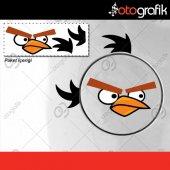 Otografik Angry Bırd 2 Depo Kapağı Oto Stıcker