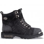 MP 172-6034 Çift Katlı Deri Kışlık Erkek Çocuk Bot Ayakkabı