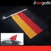 Otografik Almanya Araç Bayrağı Oto Bayrak
