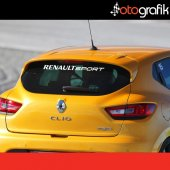 Otografik Renault Sport Oto Cam Stıcker