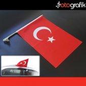 Otografik Araç Türk Bayrağı Oto Bayrak