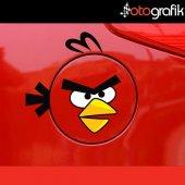 Otografik Depo Kapağı Angry Bırd Oto Stıcker