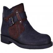 Fearful B055 100 Deri Termal Kürklü Erkek Kışlık Bot Ayakkabı
