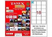 Tanex Tw 2018 63.5 Mm X 46.46 Mm 100 Sayfa Lazer