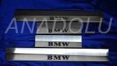 Bmw E36 Krom Kapı Eşiği 4 Parça 1992-1998 Paslanmaz Çelik