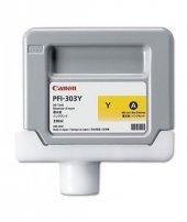 Canon Pfı 303 Yellow Mürekkep Kartuş 2961b001