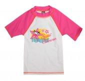 Arena Water Trıbe Kıds Gırl Uv S S Tee Çocuk T Shirt Pembe