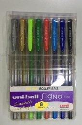 Uni Ball Um 100 Signo 0.7 Jel Kalemler 8 Renk