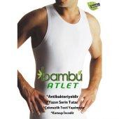 Yıldız 316 6lı Paket Bambu Süper İnce Yaz Serinliği Erkek Atlet-2