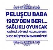 60CM GÜLLÜ ROMANTİK BEYAZ PELUŞ AYI OYUNCAK, PELUŞCU BABA!-2