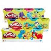 Play Doh 4 Lü Oyun Hamuru