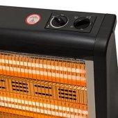 Conti CQS-1800 Sole Elektrikli Soba Buharlı + Termostatlı + Devrilme Emniyetli Elektrikli Isıtıcı -2