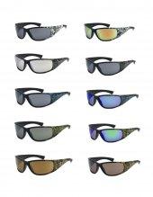 Amerikadan İthal Orjinal Xloop Kamuflaj Spor Güneş Gözlüğü-3