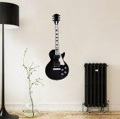 Metal Duvar Dekoru Gibson Gitar
