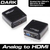 Dark DK-HD-AVGAXHDMI VGA To HDMI Dönüştürücü