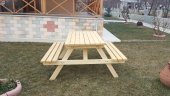 Alaçam Mobilya Piknik Masası 8 Kişilik