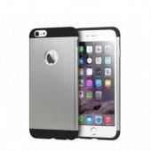 Totu İphone 6 Plus 6s Plus Aluminum Case Gray Black Kılıf
