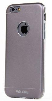Yolope İphone 6 Plus 6s Plus Ruber Kılıf Aluminum Grey