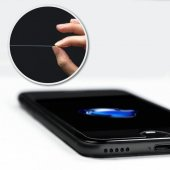 iPhone 7 Şeffaf Ekran Koruyucu Cam 2 Adet-2