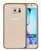 TotuDesing Samsung Galaxy S6 Alüminyum Çerçeve - Black/Gold