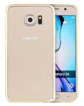 Totudesing Samsung Galaxy S6 Alüminyum Çerçeve Silver