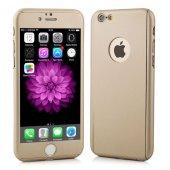 iPhone 6 6S Plus Kılıf 360 Koruma Gold