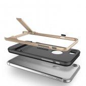 Melefoni Gizli Stand Ayaklı Gold iPhone 7 Kılıf-4