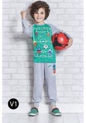 Roly Poly 1101 Erkek Çocuk Pijama Takımı 1 4 Yaş