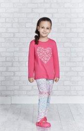 Roly Poly 2152 Kız Çocuk Pijama Takımı 10-16 Yaş-2