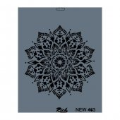 Rich New Seri N 463 Stencil 35x25 Cm
