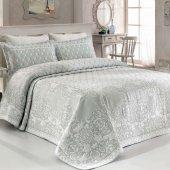 Casandra tek kişilik yatak örtüsü ıvy aqua-2