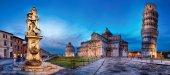 Castorland 600 Parça Pisa Kulesi ve Mucizeler Meydanı Puzzle
