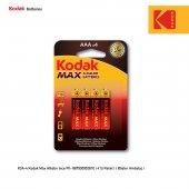Kodak Max Alkalin İnce Pil 4 Adet