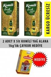 Komili Zeytinyağı Riviera 5 Lt X 2 Adet + 1kg Çaykur Çay Hediyeli