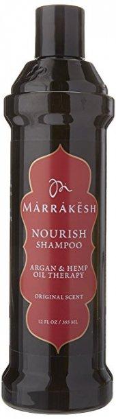 Marrakesh Nourish Shampoo Argan Ve Kenevir Özlü Besleyici Ve Güçlendirici Şampuan 355 Ml